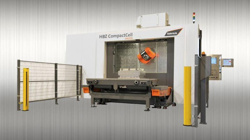 Logo Horizontal machining centre - Horizontal machining center HBZ® Compact