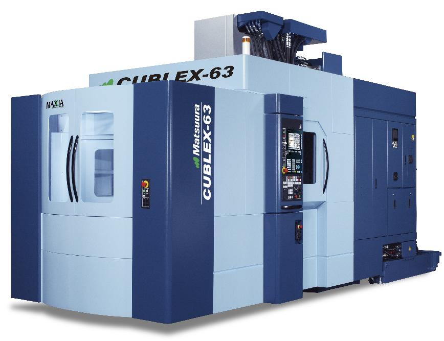 Logo 5-Axis Vertical Multi-Tasking Machining Centre - CUBLEX-63