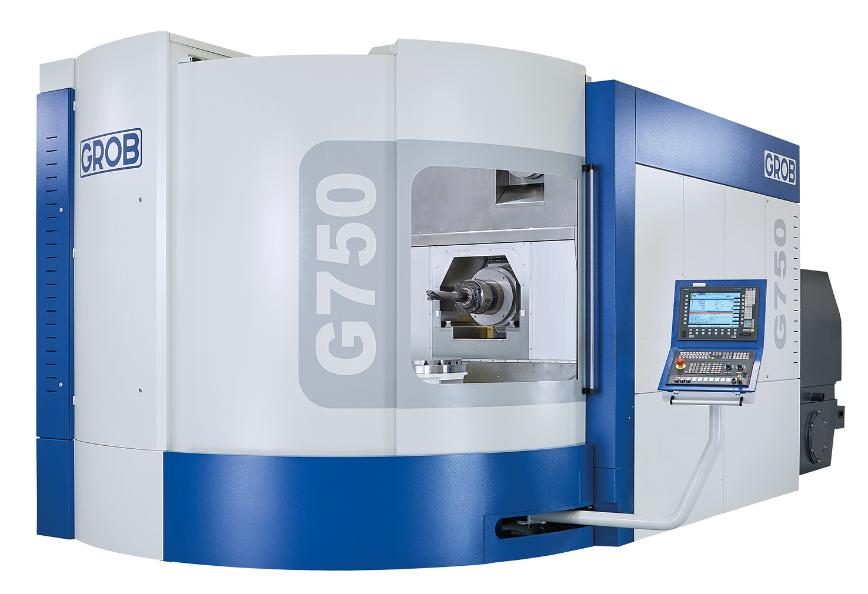 Logo Universal-Bearbeitungszentrum - G750 – Generation 1
