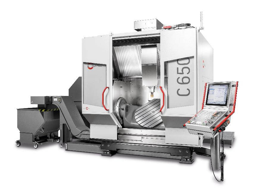 Logo The C 650 sets new standards in terms of the traverse path and load pe