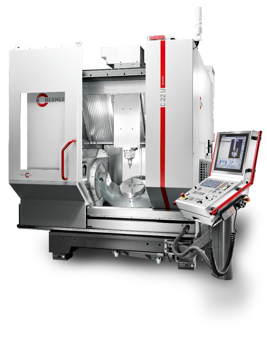 Logo The C 22 - a highly dynamic machining centre - flexible and compact -