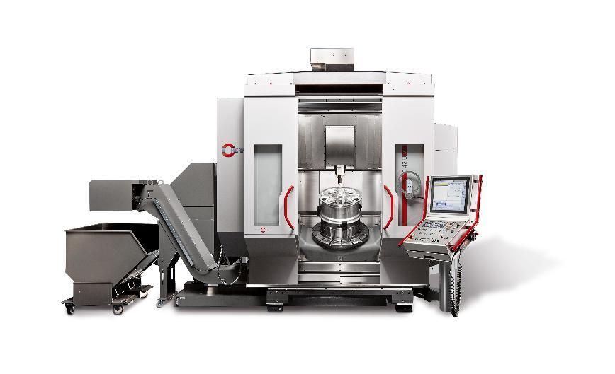 Logo Ein CNC-Hochleistungsbearbeitungszentrum - Kombinierte Dreh- und Fräsb