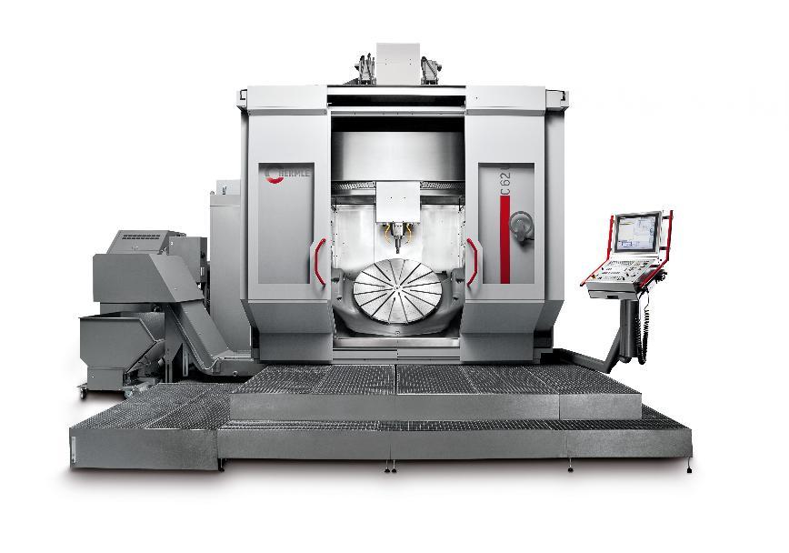 Logo Das Bearbeitungszentrum für Teilefertigung mit Werkstückgewichten bis