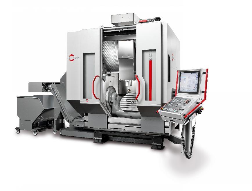 Logo Bearbeitungszentrum C 32 - Die Werkzeugfräsmaschine für den täglichen