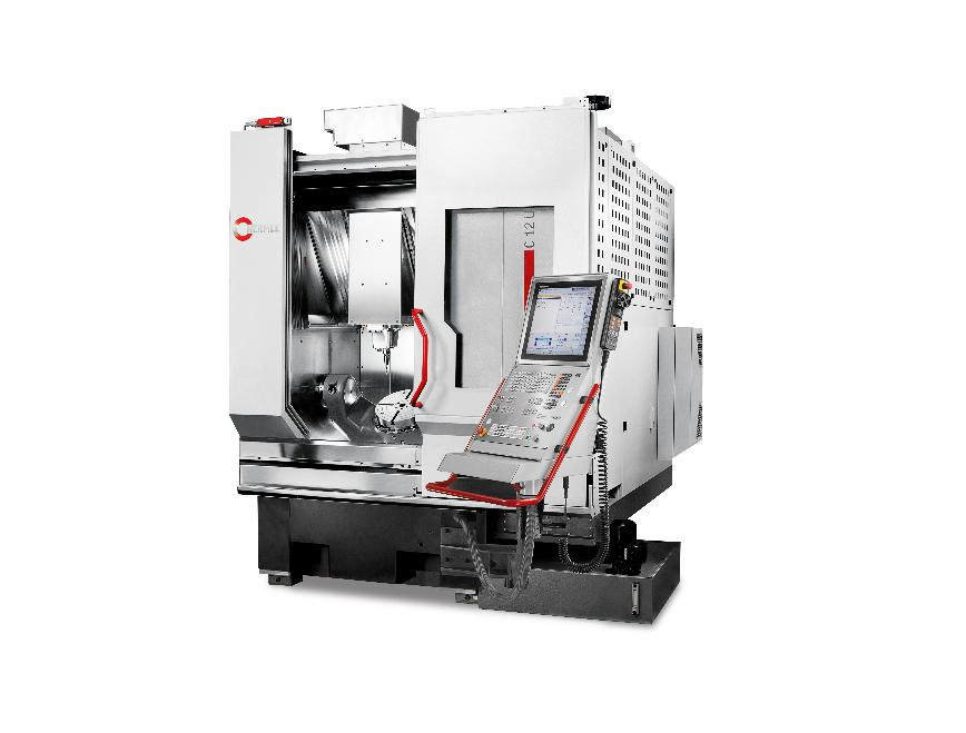 Logo Maximum efficiency combined with an installation area: The C 12 machin