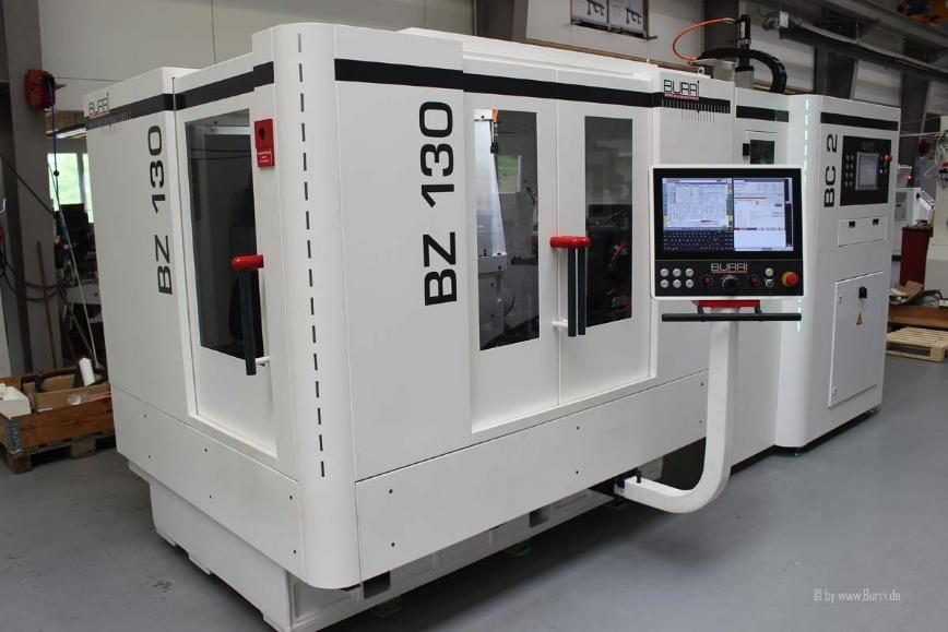 Logo Gear grinding machine - Gear grinding machine BURRI BZ 130