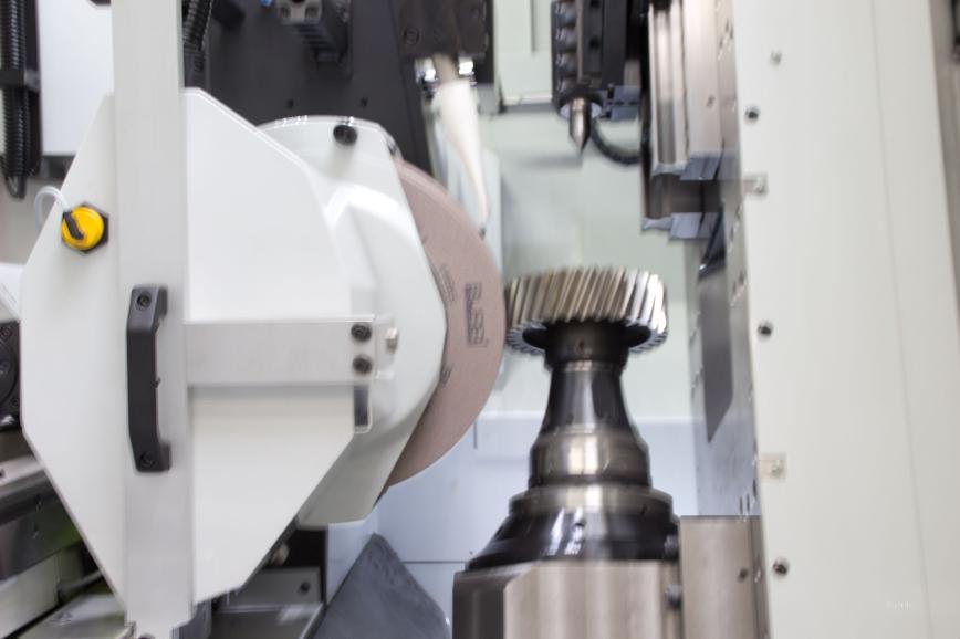 Logo Gear grinding machine - Gear grinding machine Burri BZ 362