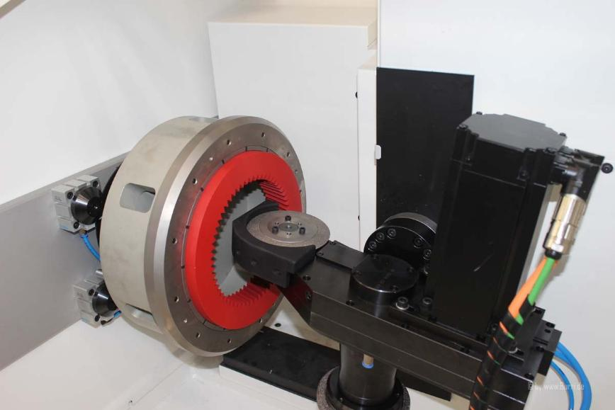 Logo Profiliermaschine für Honringe - Profiliermaschine Burri PM 400 H