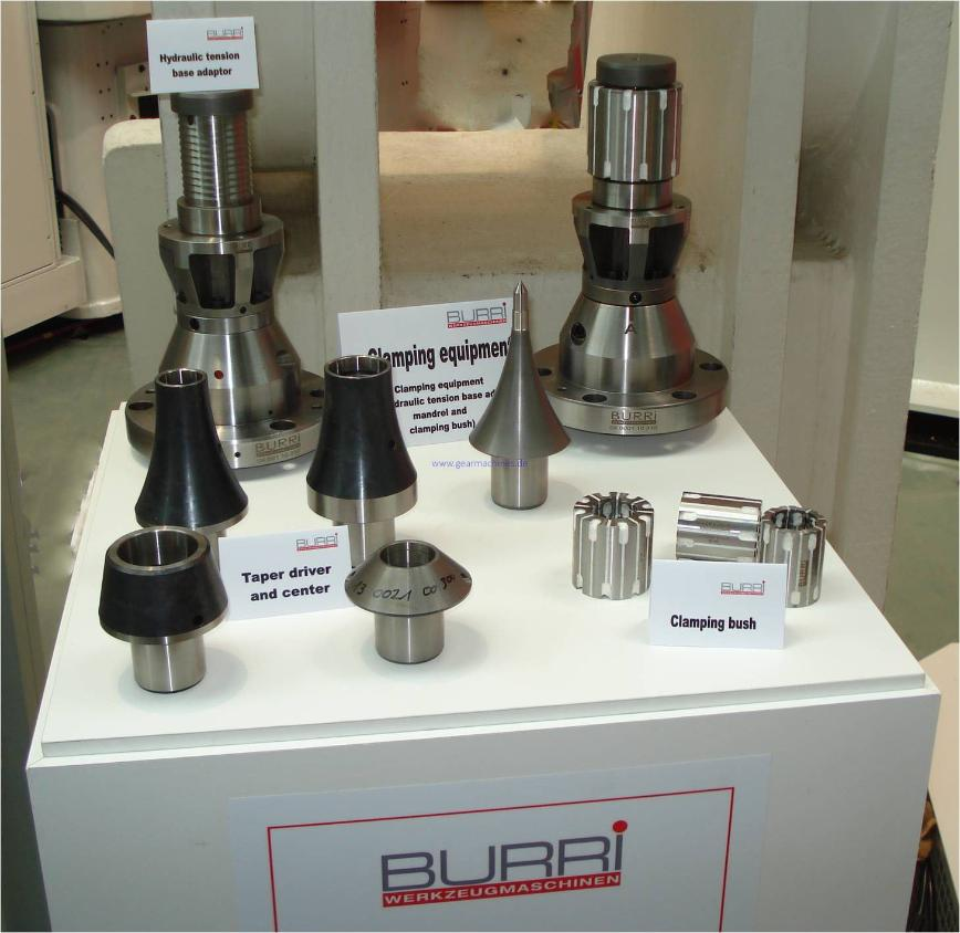 Logo clamping devices - Burri clamping devices