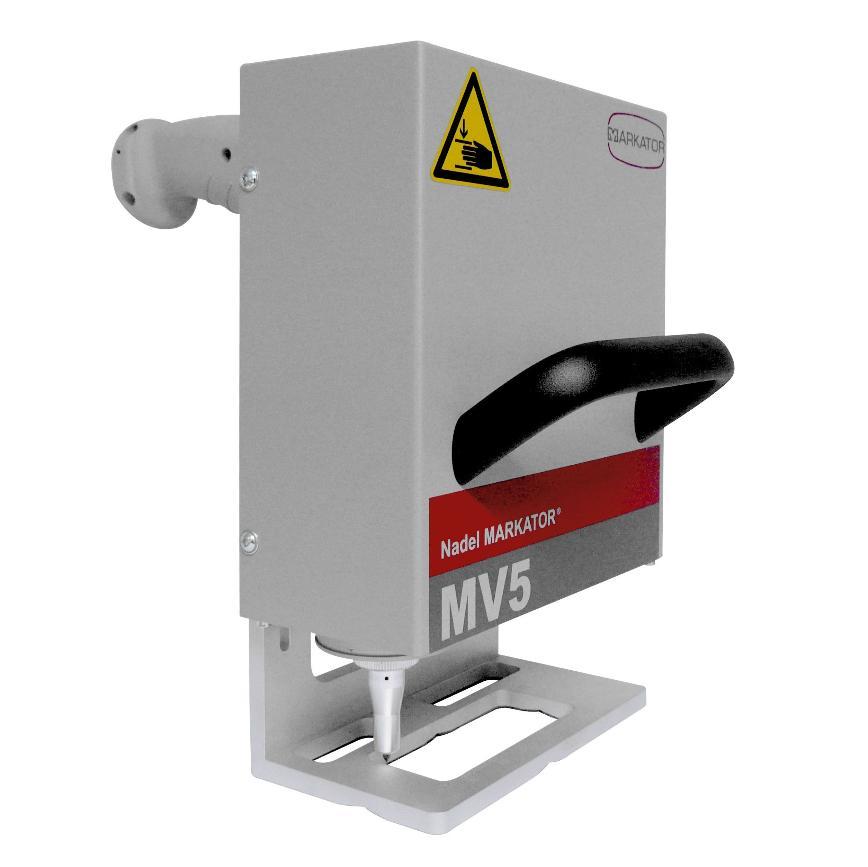 Logo Handmarkiersystem pneumatisch betrieben - Nadelpräger MV5 M50/M80/M120