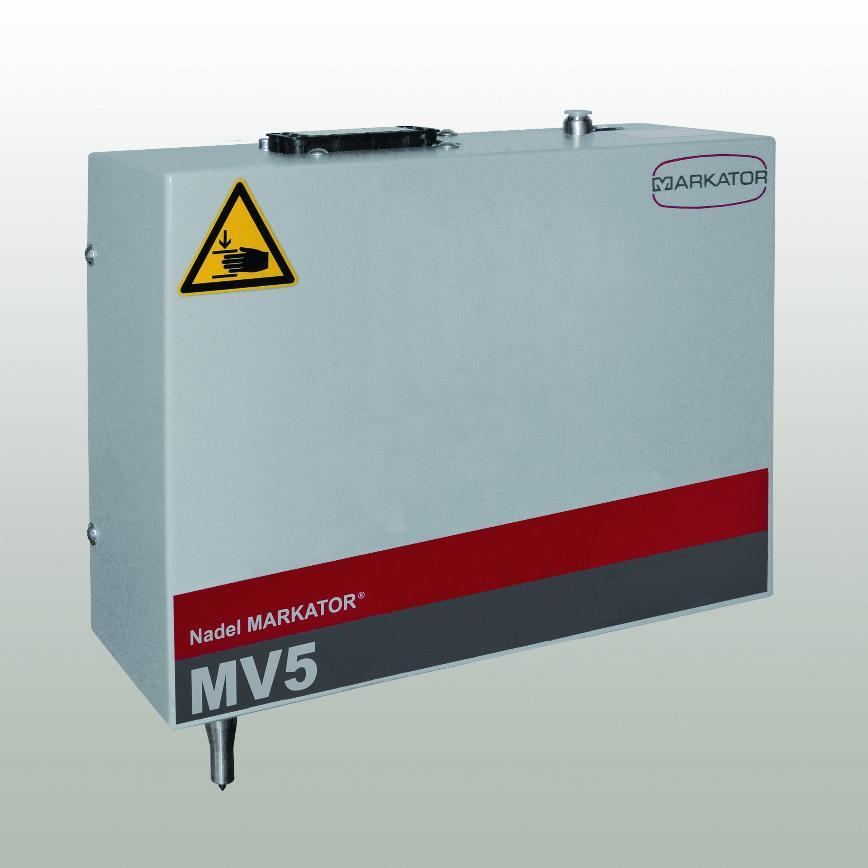 Logo Markiersystem   - Integrationseinheiten Nadelpräger MV5 U50/U80/U120