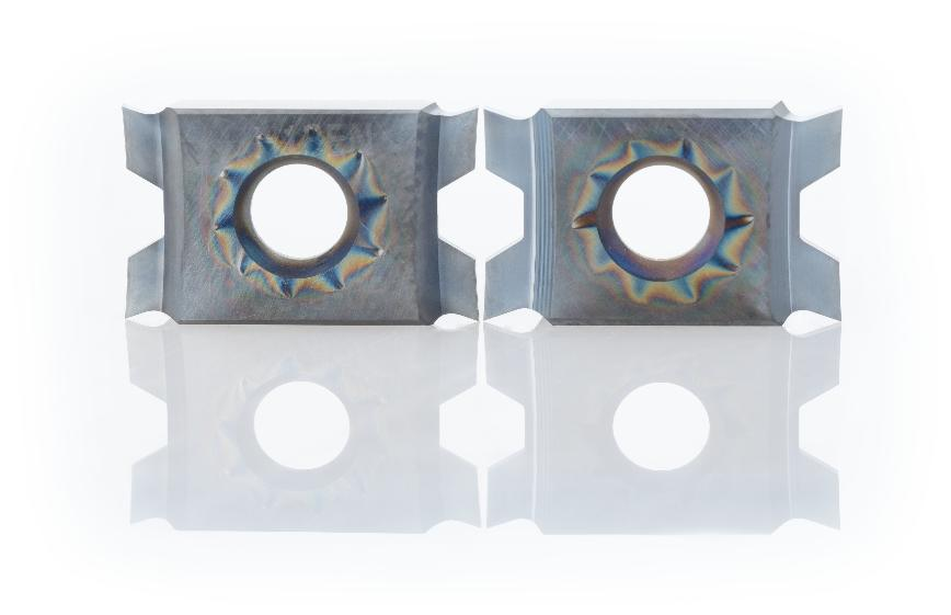Logo Indexable insert for grooving and parting - WhizGroove - precision gro