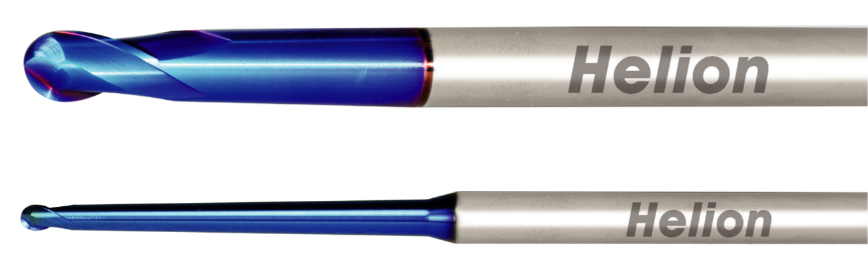 Logo Ball nose end mill - SOLID CARBIDE BALL NOSE END MILL TAPER NECK Z2 ·