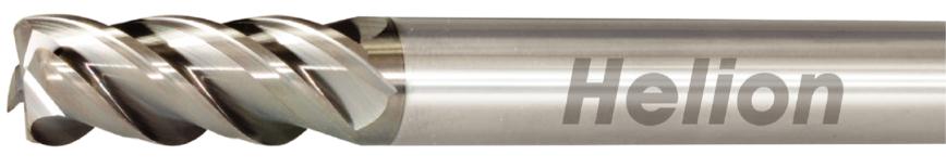 Logo Toric cutter - SOLID CARBIDE CORNER RADIUS END MILL Z4 · 42°