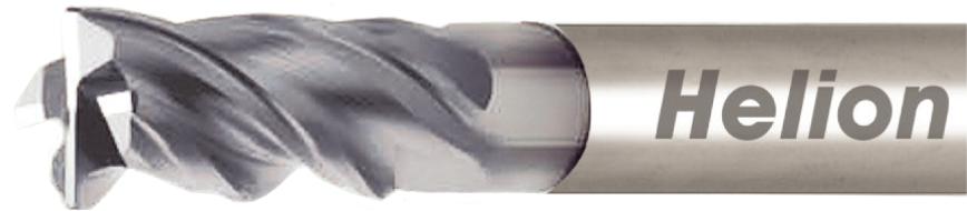 Logo End miller - SOLID CARBIDE END MILL Z4 · 35°/38°
