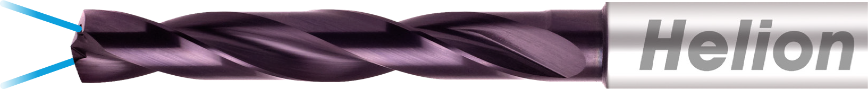 Logo Spiralbohrer / Vollbohrer - SOLID CARBIDE DRILL 5XD INTERNAL COOLANT