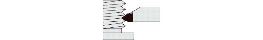 Logo Tool bit - EXTERNAL THREAD TOOL DIN 282