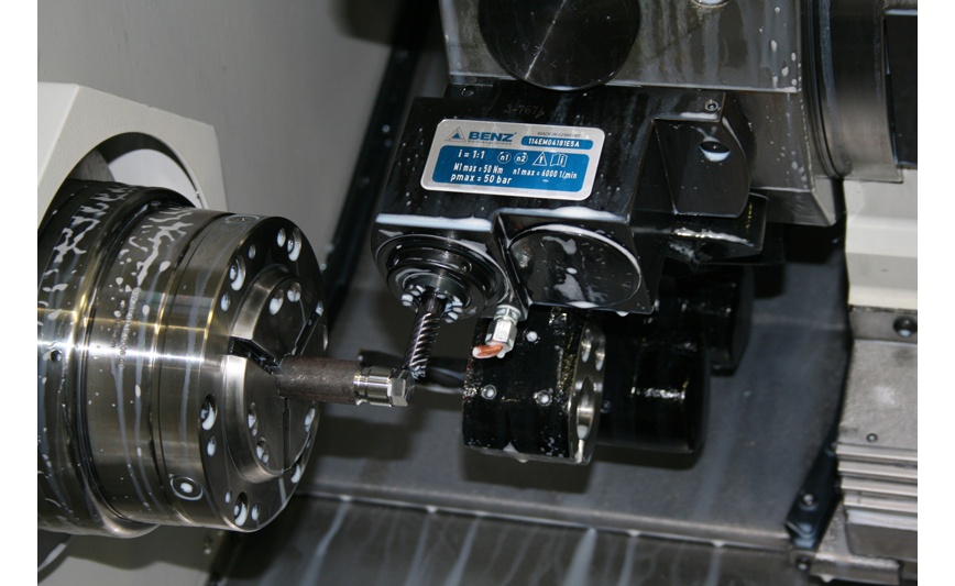 Logo Toolholder with coupleable drive - Axial heads