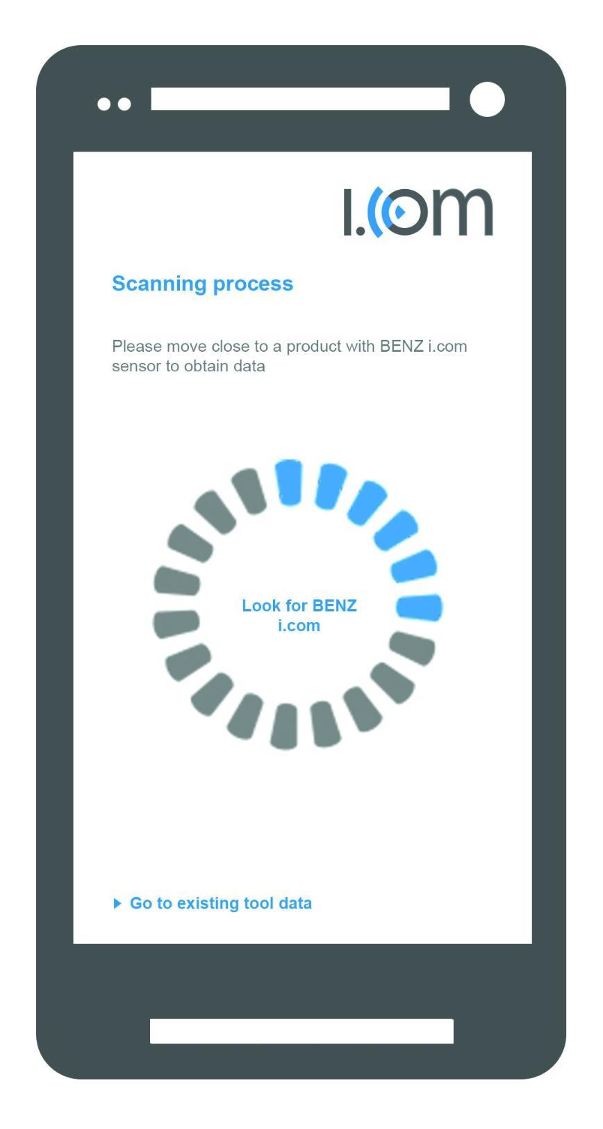 Logo Tool system, modular - Industry 4.0 application BENZ i.com