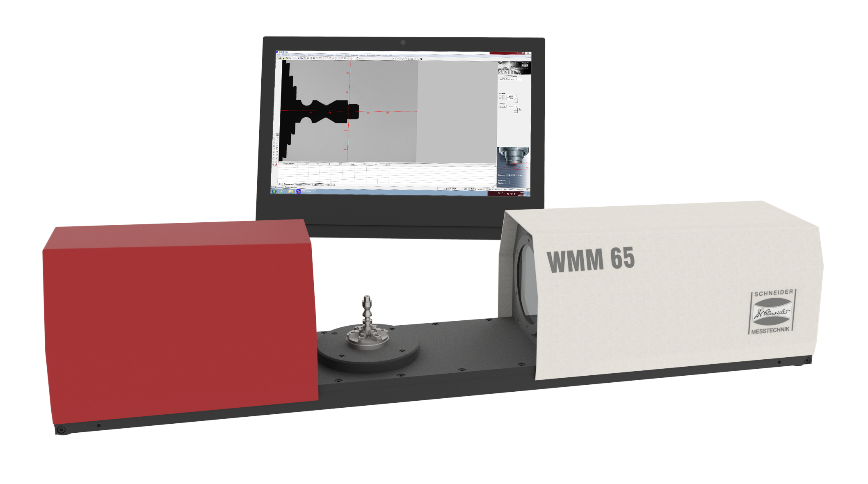 Logo Wellenmessmaschine - Wellenmessmaschine WMM 65