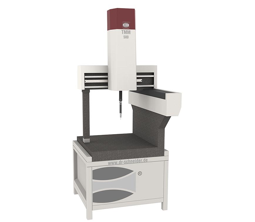 Logo Dreidimensionale Messmaschine - 3D Koordinaten-Messmaschine TMM