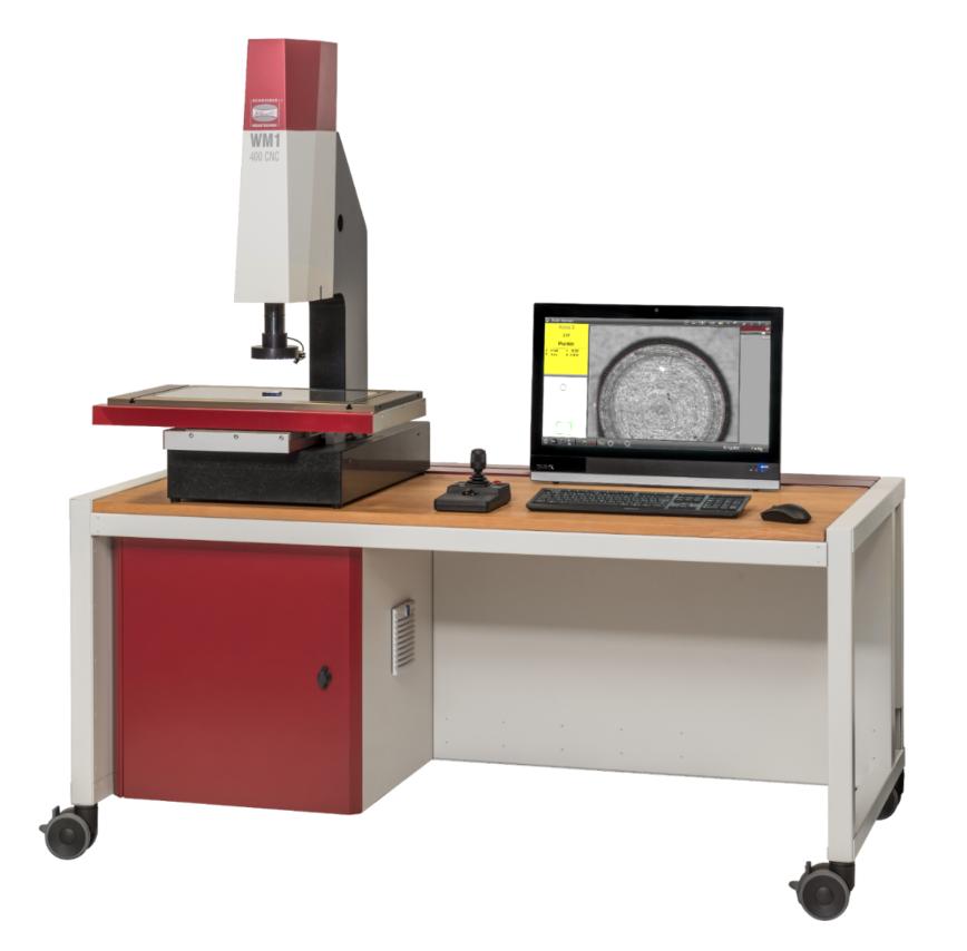 Logo Messmikroskop - Werkstattmikroskop WM1 CNC