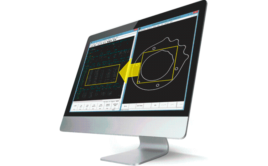Logo CAM software - Mazatrol CAD-Import