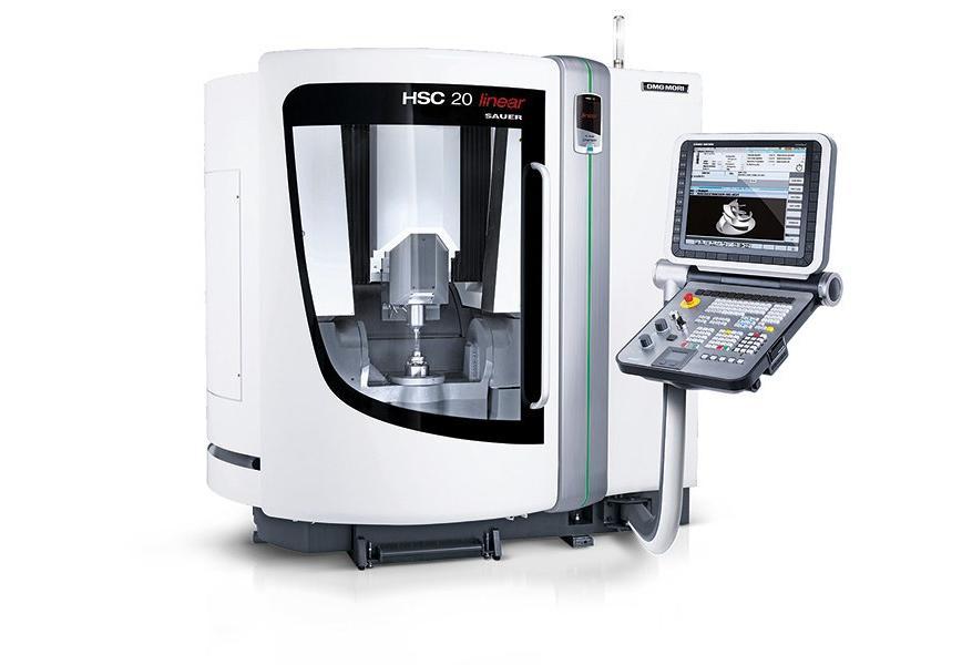 Logo High speed milling machine (HSC) - HSC 20 linear