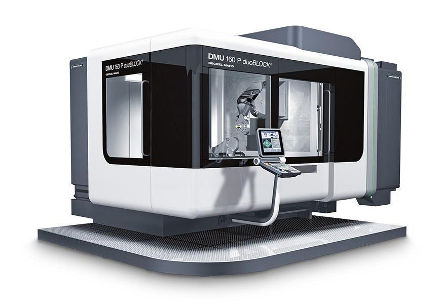 Logo Universal machining centre - DMU 160 P duoBLOCK®