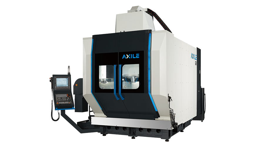 Logo High Speed machining centre - AXILE-G8