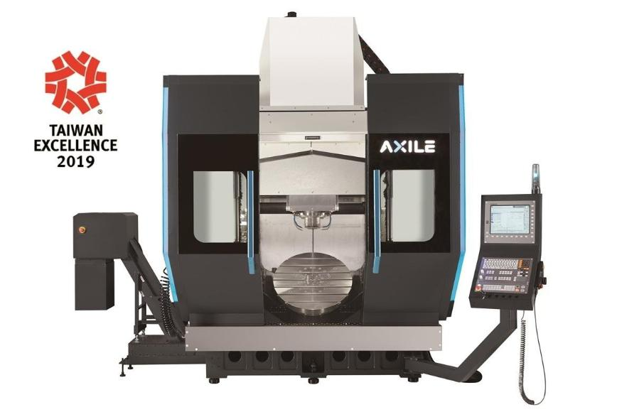 Logo High speed milling machine (HSC) - AXILE-G8