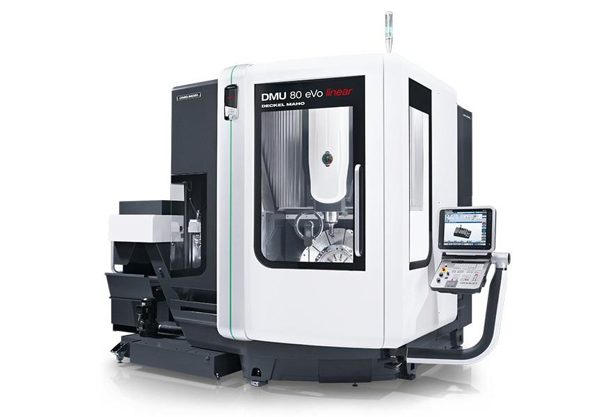 Logo Universal machining centre - DMU 80 eVo / linear