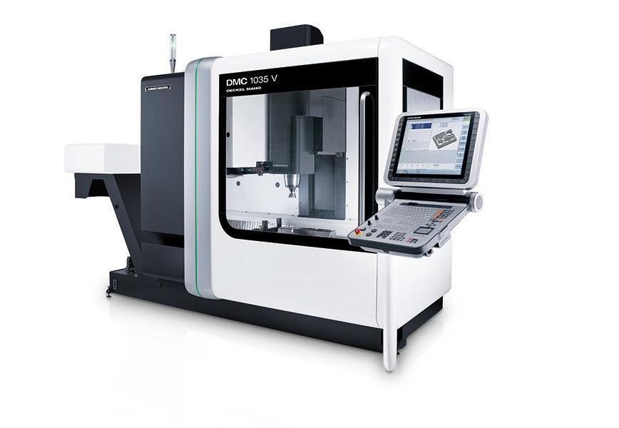 Logo Vertical machining centre - DMC 1035 V
