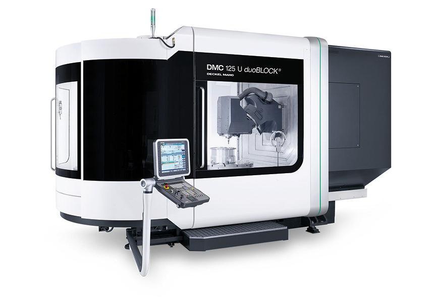 Logo Universal machining centre - DMC 125 U duoBLOCK®