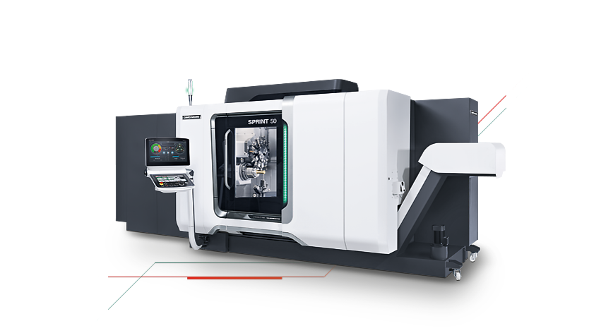 Logo Horizontal turning centre - SPRINT 50