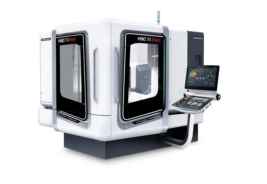 Logo High speed milling machine (HSC) - HSC 70 linear