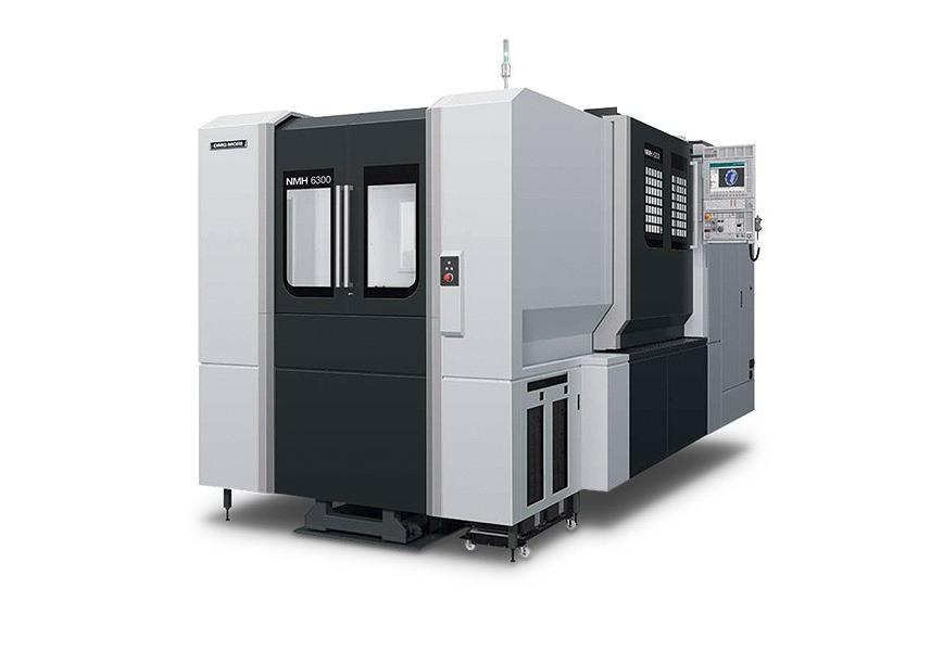 Logo Horizontal machining centre - NMH 6300 DCG