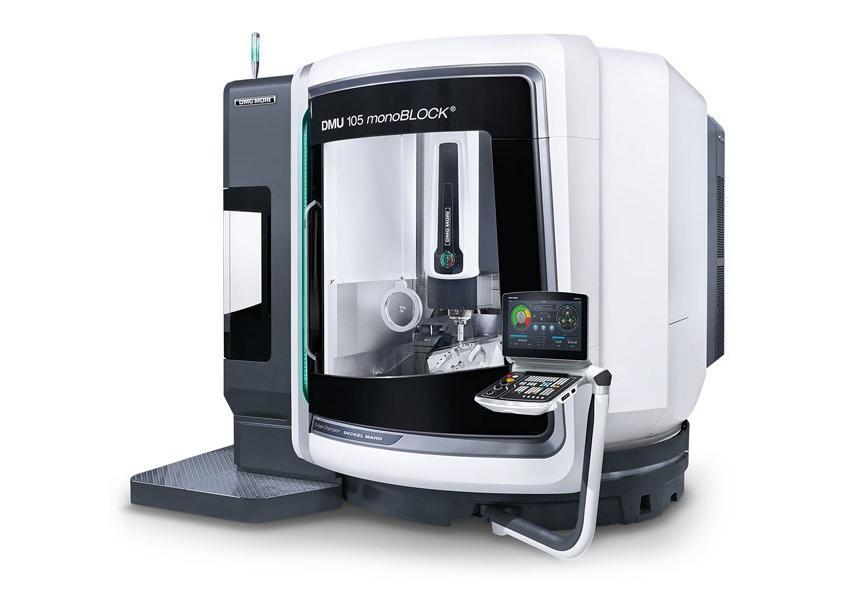 Logo Universal machining centre - DMU 105 monoBLOCK®