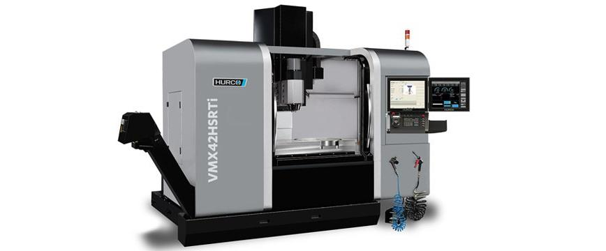 Logo Five-axis milling machining centre - HURCO VMX 42 HRSTi