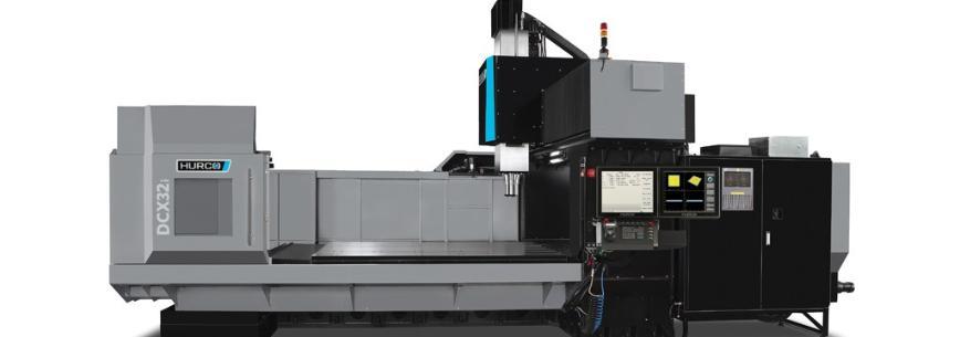 Logo CNC Portalmaschine für große Dinge - HURCO DCX 32 i