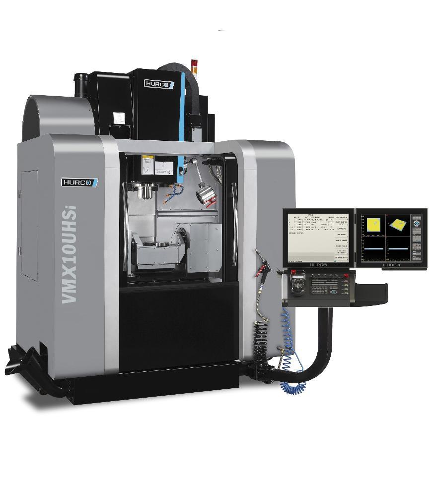 Logo Five-axis milling machining centre - HURCO VMX 10 UHSi
