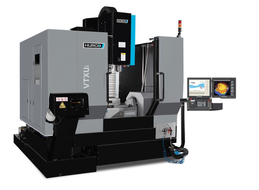 Logo Five-axis milling machining centre - HURCO VTX Ui WZW 96