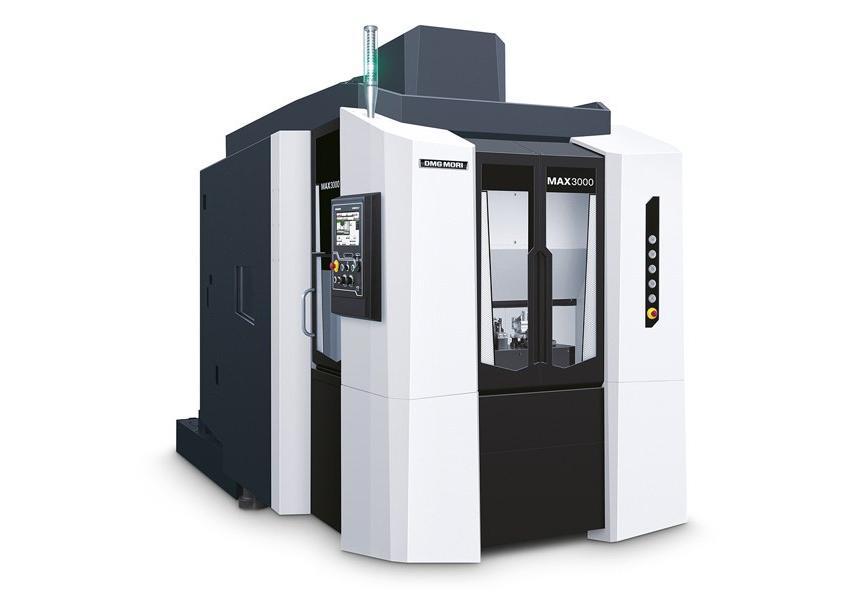 Logo Vertical machining centre - MAX 3000 Stealth Design