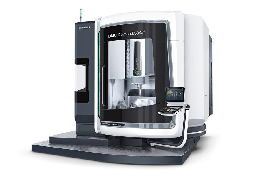 Logo Universal machining centre - DMU 125 monoBLOCK®