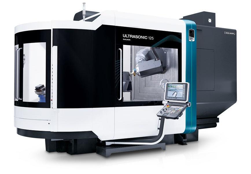 Logo Universal bed type milling machine - ULTRASONIC 125 duoBLOCK®