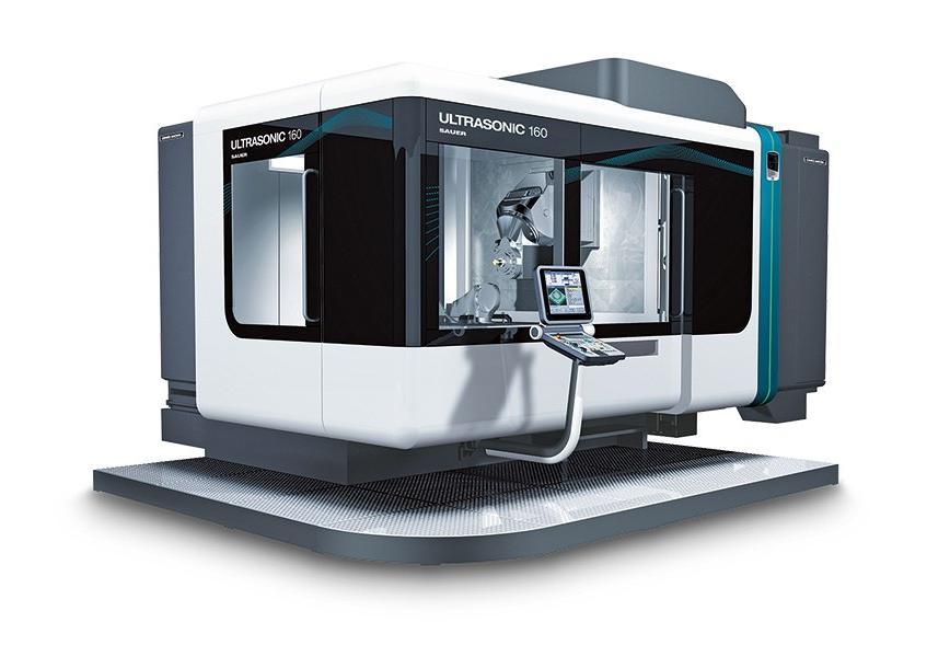Logo Universal bed type milling machine - ULTRASONIC 160 duoBLOCK®