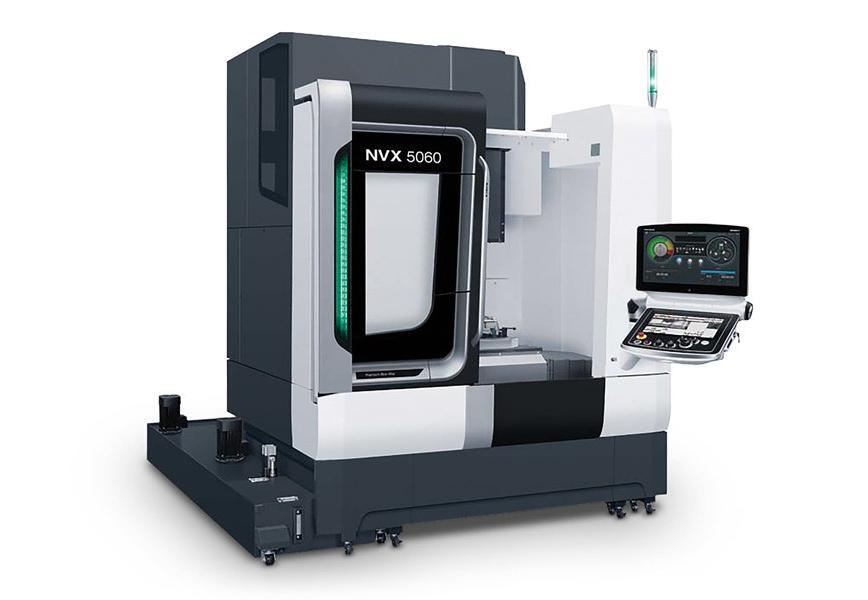 Logo Vertical machining centre - NVX 5060
