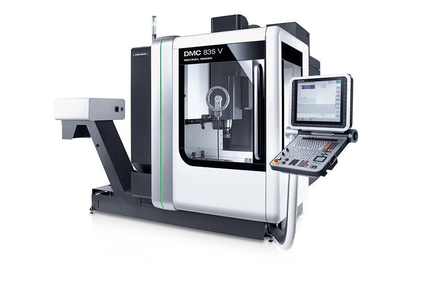 Logo Vertical machining centre - DMC 835 V