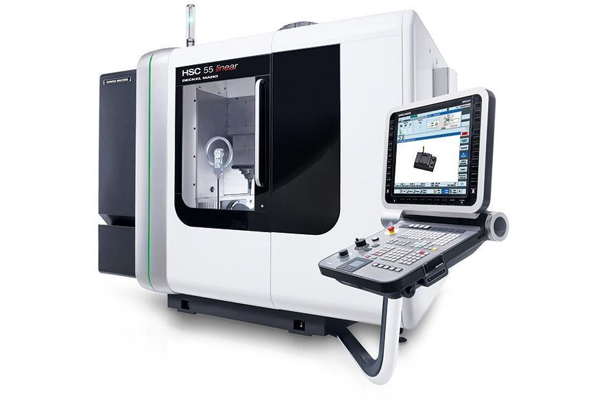 Logo High speed milling machine (HSC) - HSC 55 linear