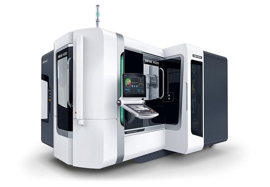 Logo Horizontal machining centre - NHX 4000 2nd Generation
